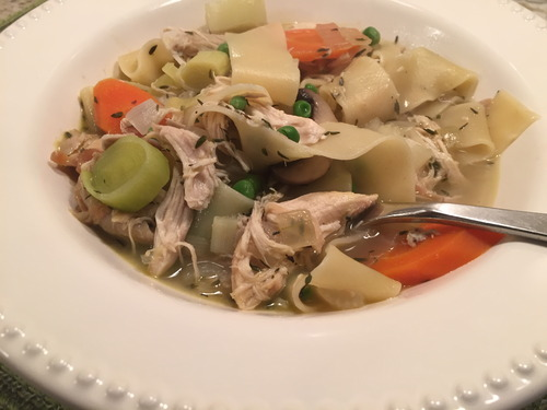 A better chicken noole soup